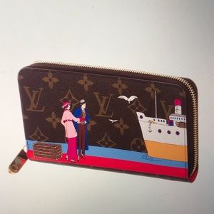 Louis Vuitton Transatlantic Cruise Zippy Wallet